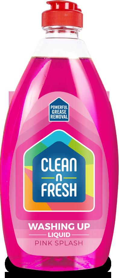 Clean n Fresh Pink Splash Washing Liquid